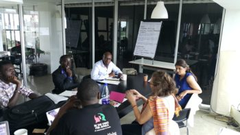 Young professionals creating social impact