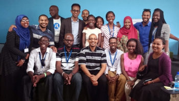 YALI group photo