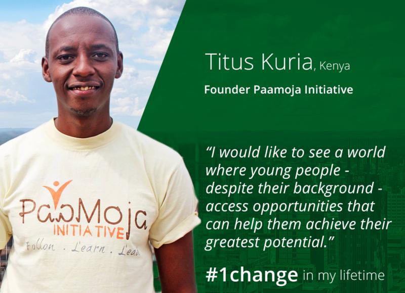 Titus Kuria #1change