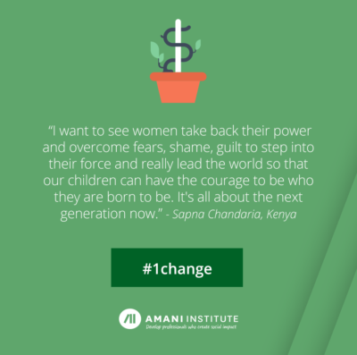Sapna Chandaria #1change