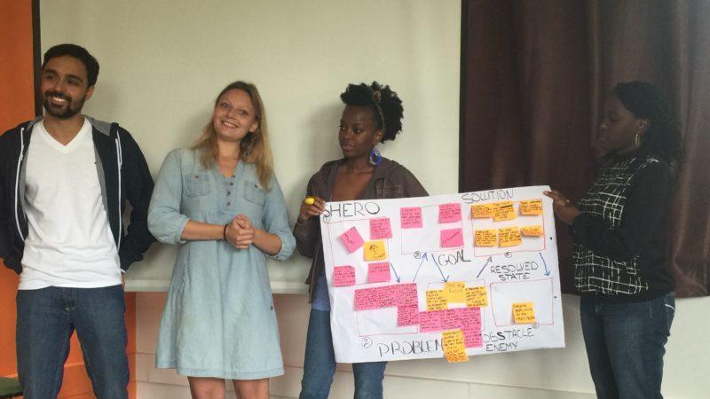Amani Fellows who started Refugee Integration Organization