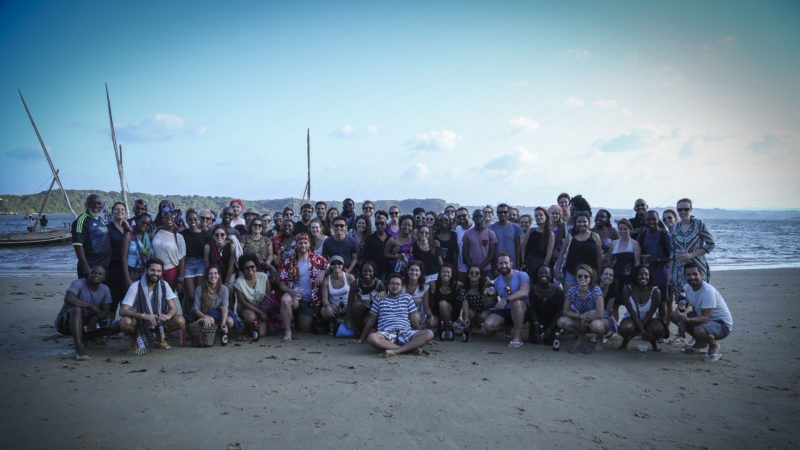 Amani Fellows at the Big 5 Summit - Photo Credit: Jerry Zhu