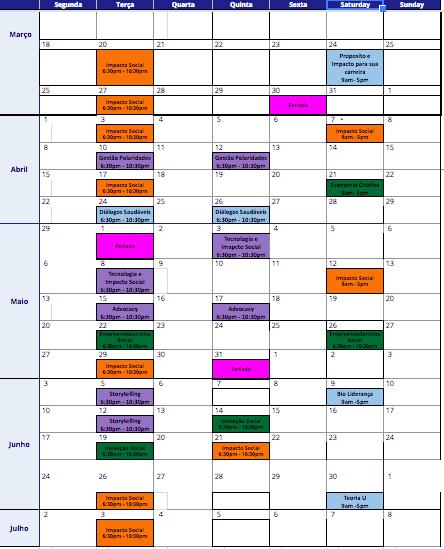 Fis Calendario.Calendario Fis2 Rascunho Amani Institute