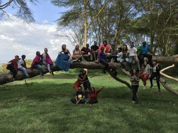 Bio-empathy class in Kenya