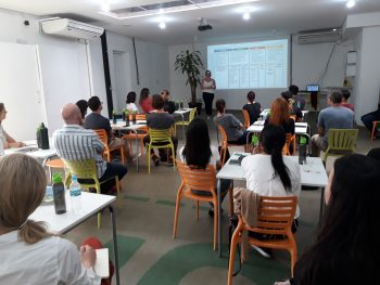 Social Innovation Management class in Brazil