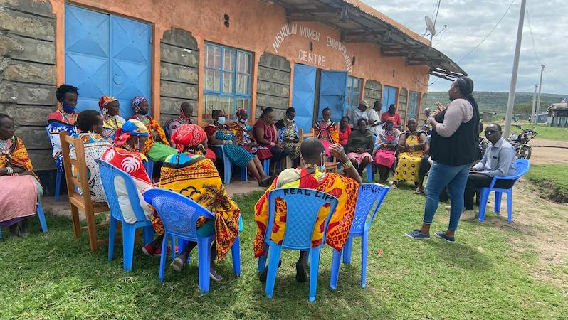 Women Center Nashulai Conservancy