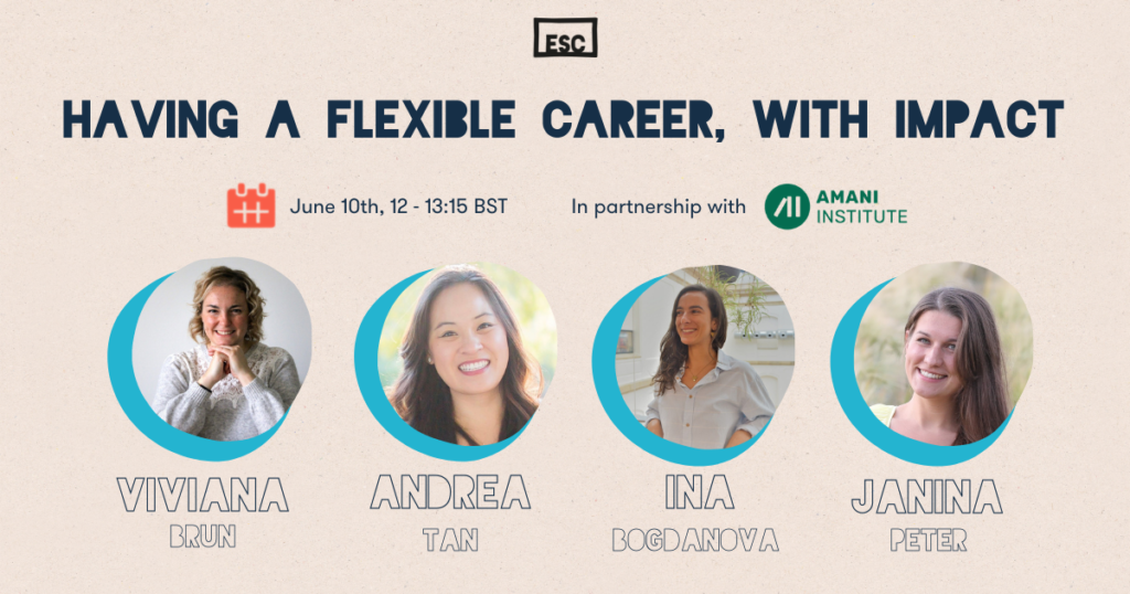 Flexible career with impact event