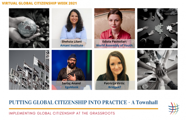 Global citizenship into practice
