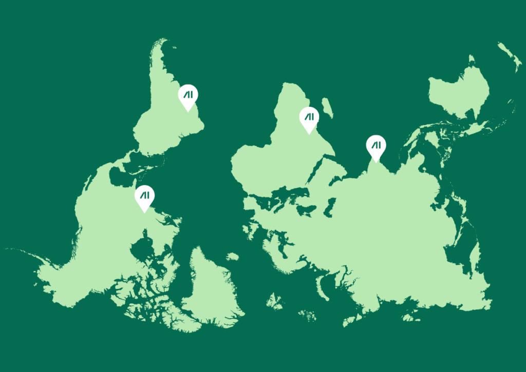 Flipped Map